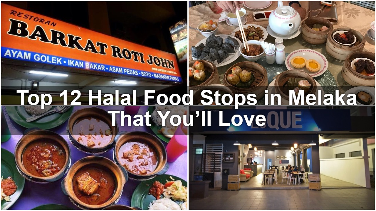 Top 12 Halal Food Stops In Melaka That You Ll Love Sgmytrips